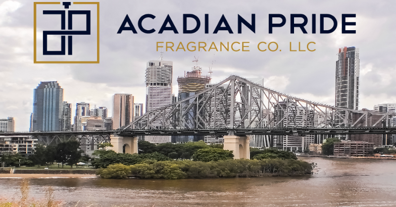 Now Featured in 40 Louisiana Stores Acadian Pride Fragrance